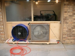 Homemade Negative Pressure Paint Booth Homemadetools Net