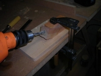 Pocket Hole Drilling Jig