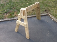 Three-Legged Sawhorse