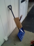 Two-Handled Snow Shovel