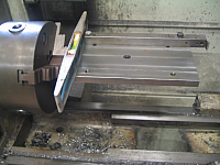 Lathe-Mounted Sine Bar