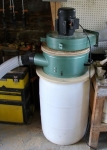 Homemade Mini Cyclone Bucket Dust Collector