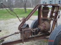 Log Winch and Skidder