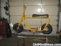 Minibike Stand