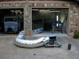 Homemade Garage Paint Booth Homemadetools Net