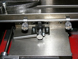 milling machine table stops