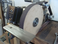 Belt Grinder Work Rest