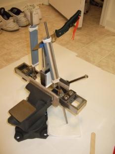 Homemade Knife Sharpening Rig Homemadetools Net