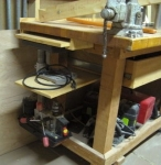 Drill Press Storage Solution