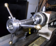 Tailstock Tap and Die Holder