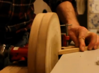 Hand-Powered Sander