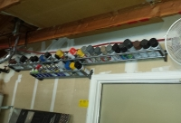 Spray Can Storage Rack
