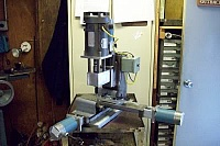 Reinforced Axis CNC Mill