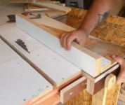 Table Saw Rip Fence