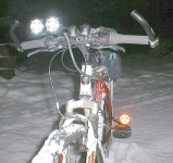 High-Output Bicycle Headlights