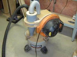 Homemade Mini Cyclone For A Shop Vacuum Homemadetools Net