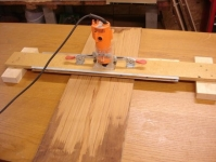 Router Surfacing Ski Jig