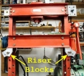 H-Frame Press Height Adjuster