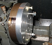 Sacrificial Face Plate for Lathe