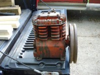 Gas-Powered Air Compressor