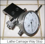Lathe Carriage Way Stop