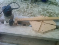 Oval Cutting Jig