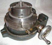 Rotary Table-to-Lathe Chuck Adaptor