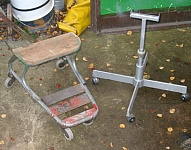 Saw Roller Stand