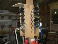 Table Saw Blade Storage Solution