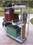 Portable Welding Rack