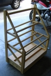 Portable Wood Storage Rack