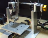 Mini CNC Four-Axis Milling Machine