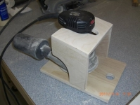 Sander Spin Down Fixture