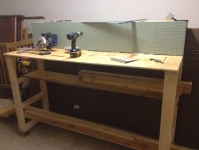 Scrap Cart and Workbench
