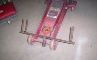 Floor Jack Axle Positioner