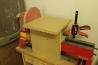 Lathe Disc Sander Add-On