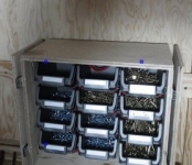 Portable Screw Cabinet