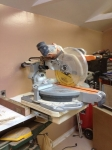Miter Saw Rotating Pull-Out Stand