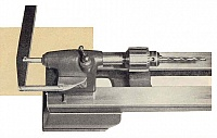 Tailstock Hand-Lever for Small Lathes