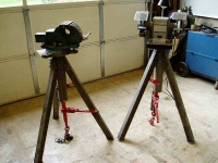 Anchored Tripod Stands
