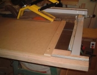 Sliding Crosscut Table