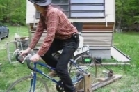 Bicycle-Powered Generator