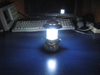 Camping Lamp Modification
