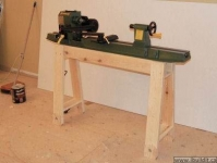 Homemade Lathe Stand Homemadetools Net