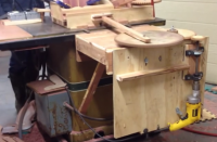 Powered Finger Joint Jig