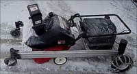 Remote-Controlled Snowblower