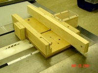Fret Cutting Jig