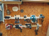 Power Tool Storage System