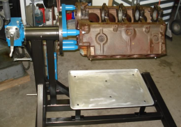 Homemade Engine Stand
