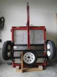 Trailer Storage Rack
